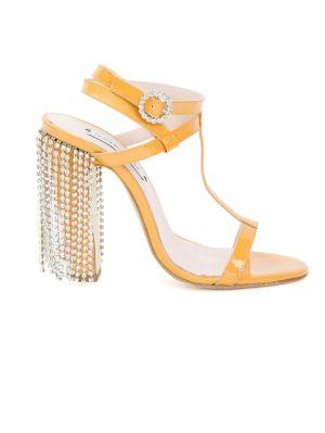 T-strap Rhinestone Sandal