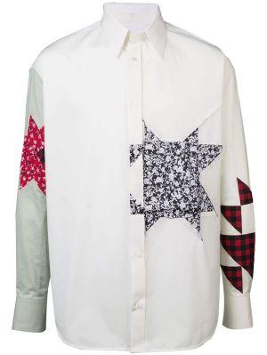 Embellished Patchwork Shirt