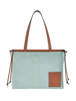 Small Cushion Tote Bag Aqua