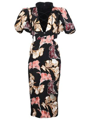 Abound In Beauty Floral Dress