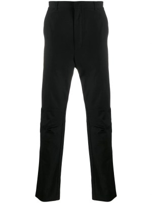 Pocket Strap Pants Black