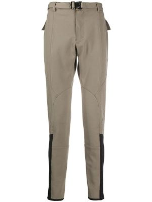 Taupe And Black Riding Pants