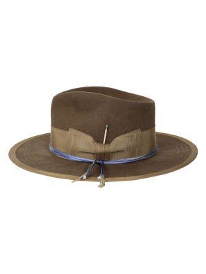 Oobelitta Whiskey Brown Fedora Hat