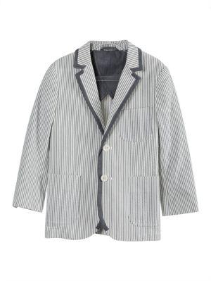 Kids Blue Tailored Blazer Jacket