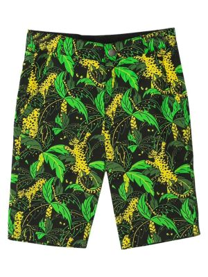 Hunting Leopard Palms Shorts