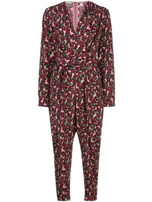 All In One Blossom Print Jumpsuit