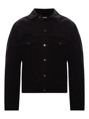 Pitch Black Denim Jacket