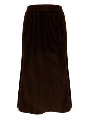 Fondente Knit Midi Skirt