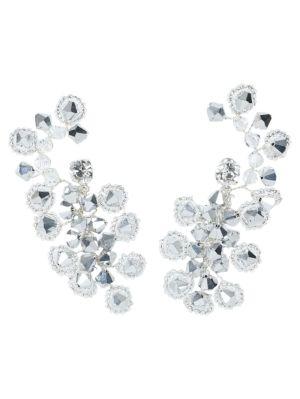 Anemone Crystal Cluster Earrings