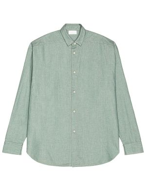 Light Blue Button Up Denim Shirt