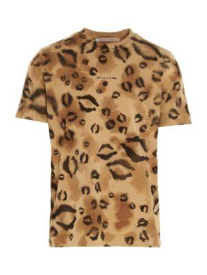 Leopard Print Logo T-shirt