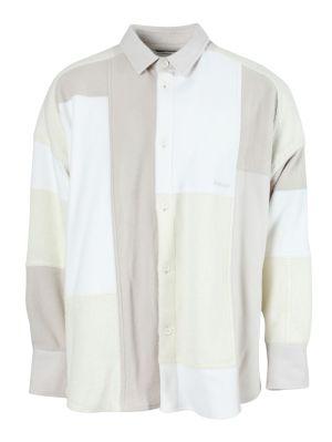 Multi-tonal Patchwork Shirt