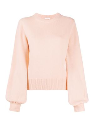 Light Pink Cashmere Knit Jumper