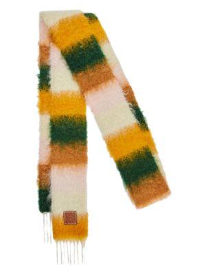 Striped Multicolor Scarf