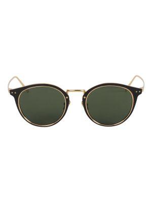 Cooper Oval Sunglasses, Black