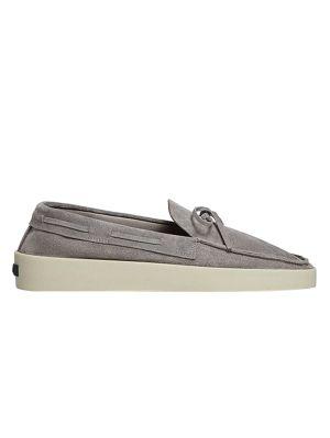 Fearofgodzegna Driving Loafer Stone Grey