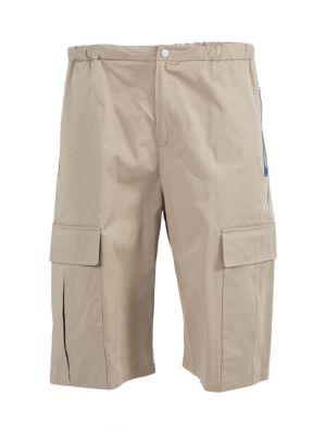 Sand Beige Cargo Shorts