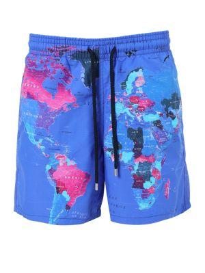 Global Print Swim Shorts