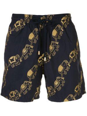 Elephant Print Swim Shorts