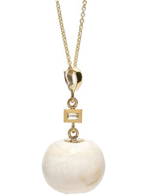 Fossil Shell Baguette Necklace
