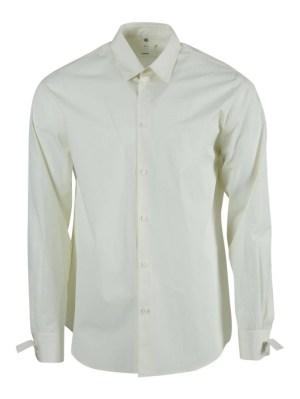 Natural White Restraint Button-down Shirt