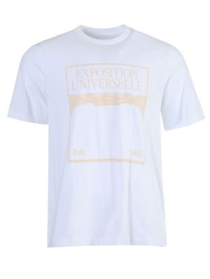 Exposition Universelle Graphic T-shirt White