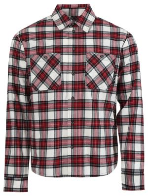 All-over Check Flannel Shirt