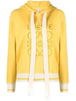 Anagram Hoodie, Yellow