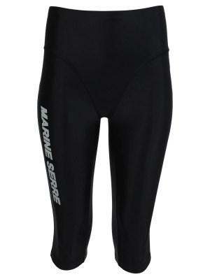 Sea-skin Logo Training Shorts, Black