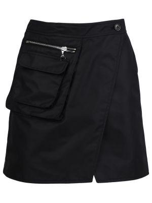 Survival Cycling Mini Skirt, Black