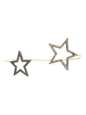 Double Star Bangle Bracelet