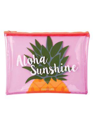 Aloha Sunshine Pineapple Beach Pouch
