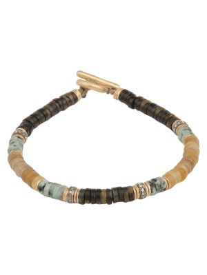 Mixed Gemstone & Diamond Bracelet