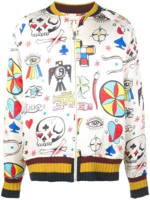 Multicolored Boomslang Bomber Jacket