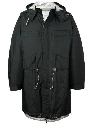 Black Oversized Raincoat