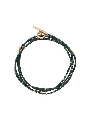 Green And Gold Detail Bracelet
