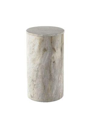 Cylindrical Stone Box