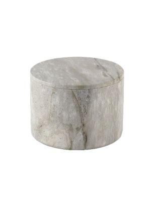 Large Round Stone Box