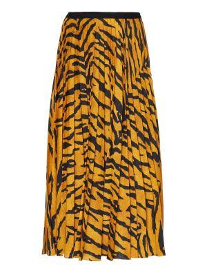 Tiger Stripe Midi Skirt