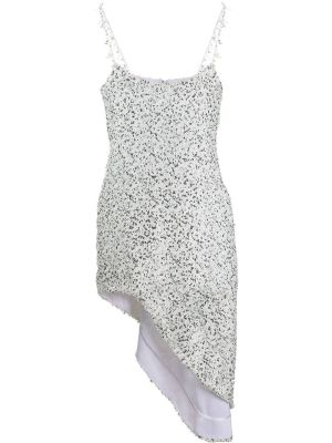 Georgette Sequin Dress