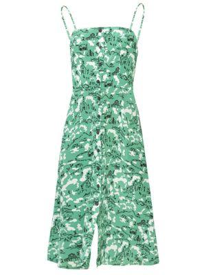 Atlanta Button Front Dress, Green Montana Barn