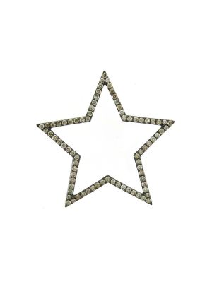 40mm Diamond Star Pendant