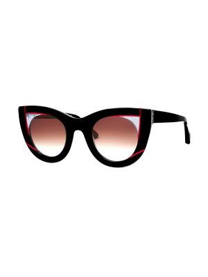 Red And Black Wavvvy Sunglasses