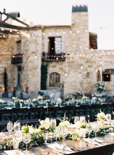 Beautiful Wedding Reception by Debbie Geller