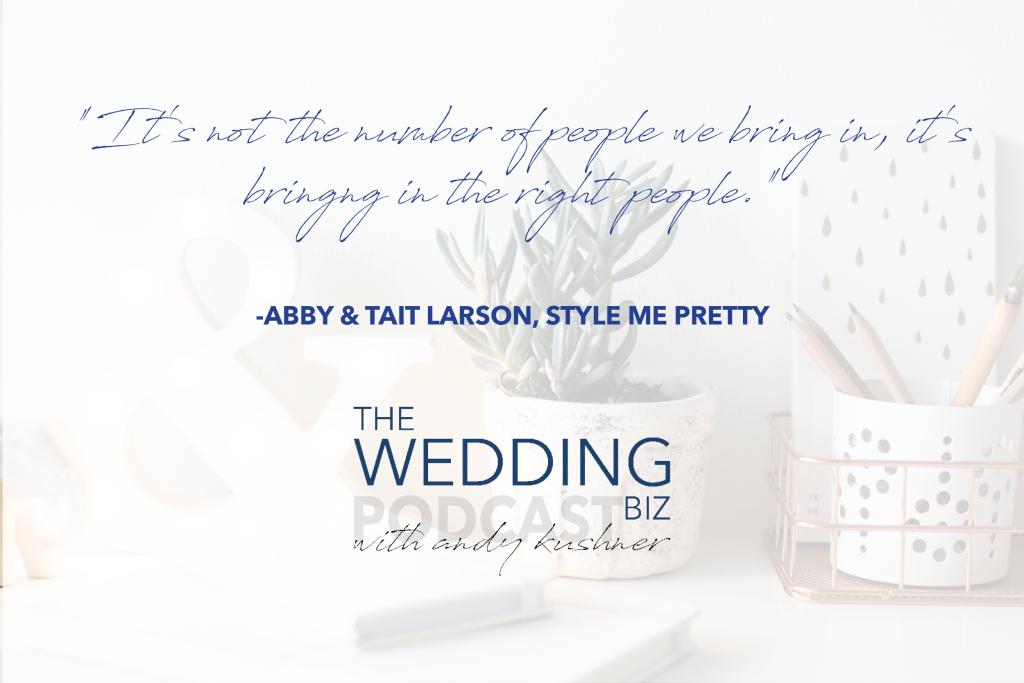 THE NEXT LEVEL: Abby + Tait Larson: Saving Style Me Pretty
