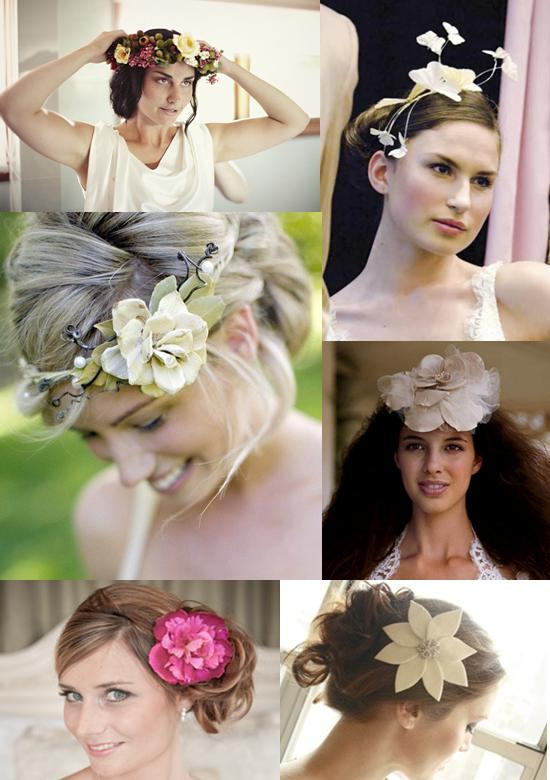 Memorable Wedding Bridal Hair Flowers