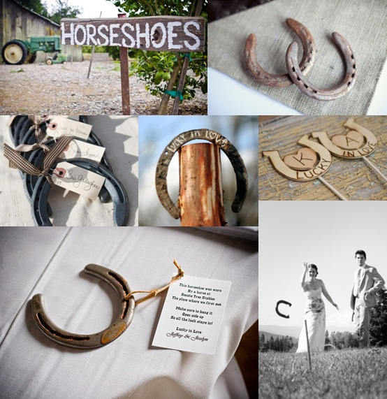Horseshoe Wedding Ideas Moody Monday The Wedding