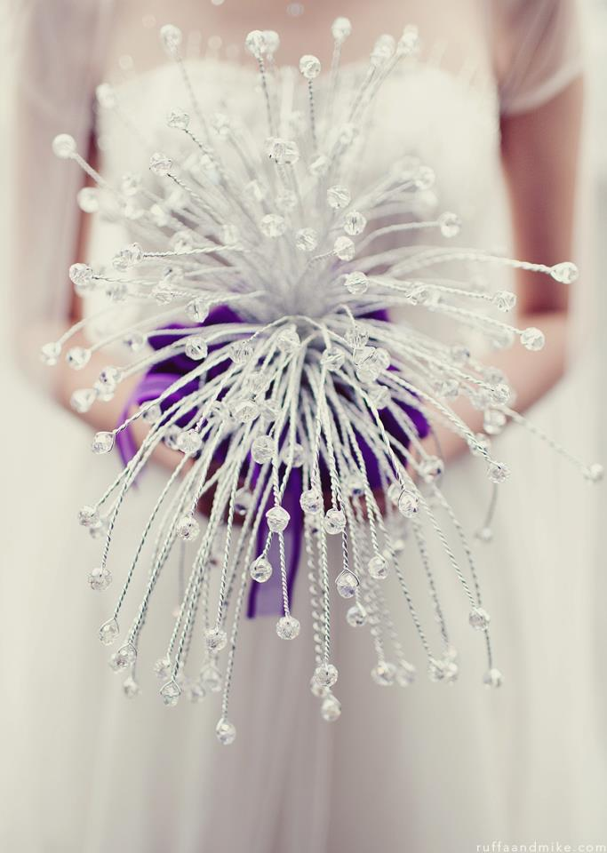 Crystal Bouquet  The Wedding Corp