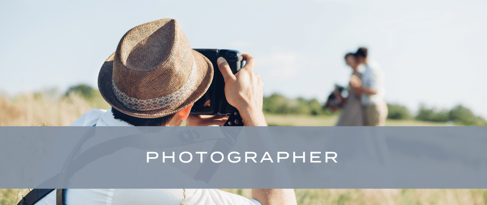 finding your wedding photographer