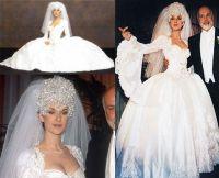 Our Top 5 Celebrity Wedding Dress Fails - Weddding Blog ...